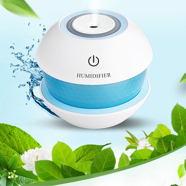 150ml Ultrasonic  Mist Diffuser Small Air Humidifiers USB Charge /Touch Switch /Whisper-quiet /7 Color Night Light Home Car Baby 5
