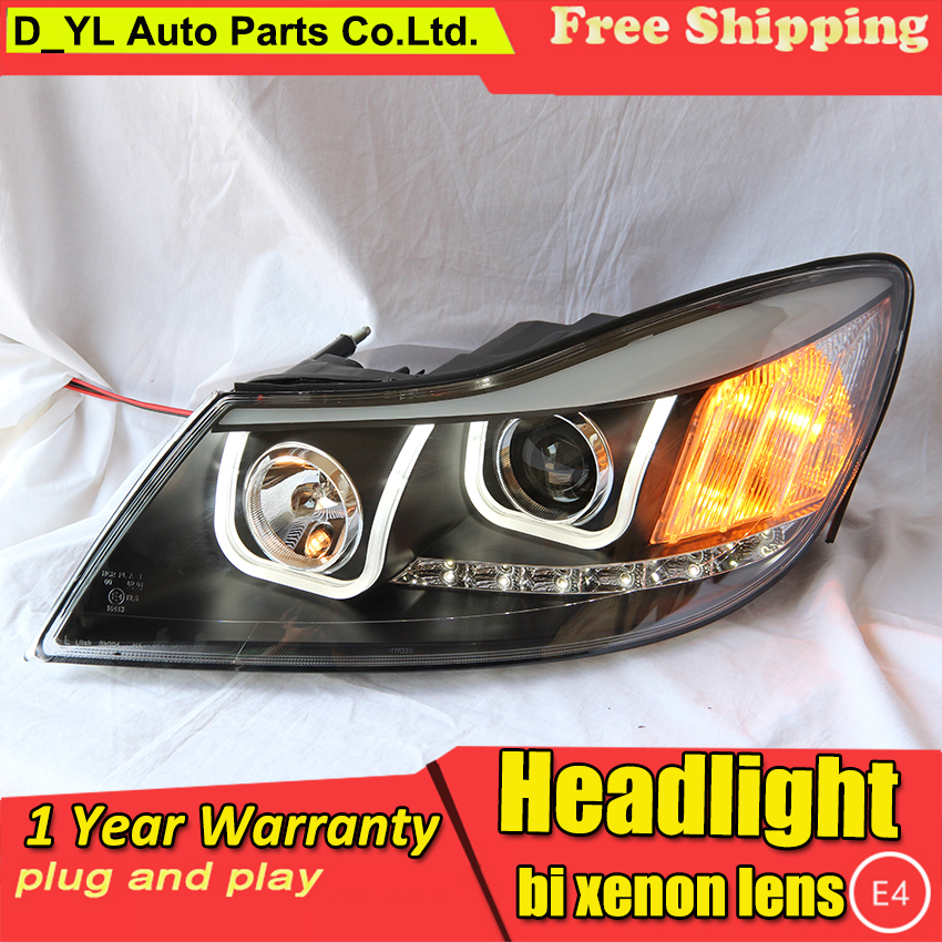 Car styling case for VW Golf6 MK6 2010 2014 Headlights Golf 6 Headlights LED Headlight DRL