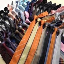 7 см Продвижение Мужские модные галстуки дизайнерские мужские высококачественные жаккардовые тканые галстуки для бизнеса свадебные галстуки Gravata