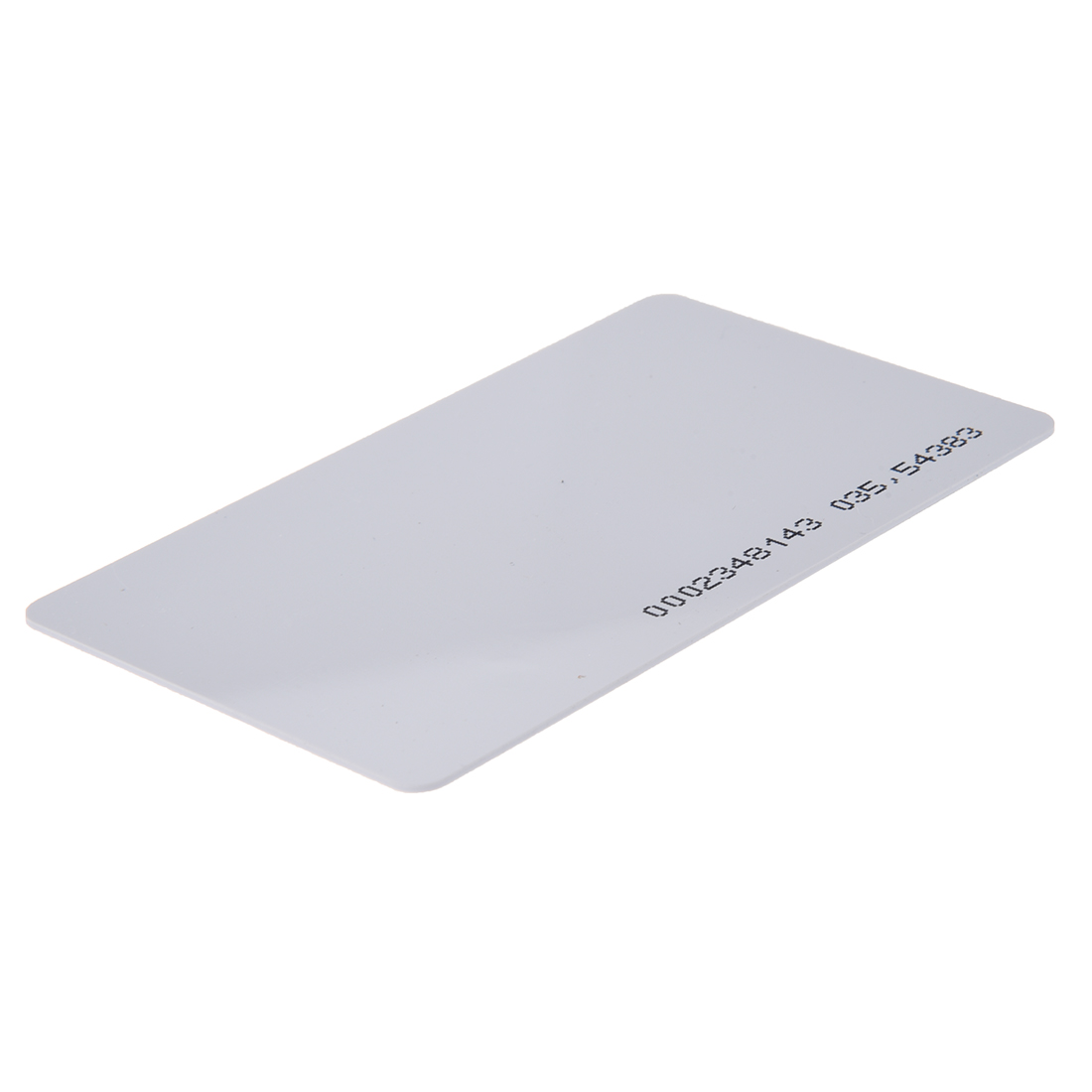 125khz em4100 door entry access blank white proximity rfid clamshell thick card thickness 1 9mm pack of 10 2 Packs 125Khz Door Entry Access Proximity RFID Card Wht 10 Pcs