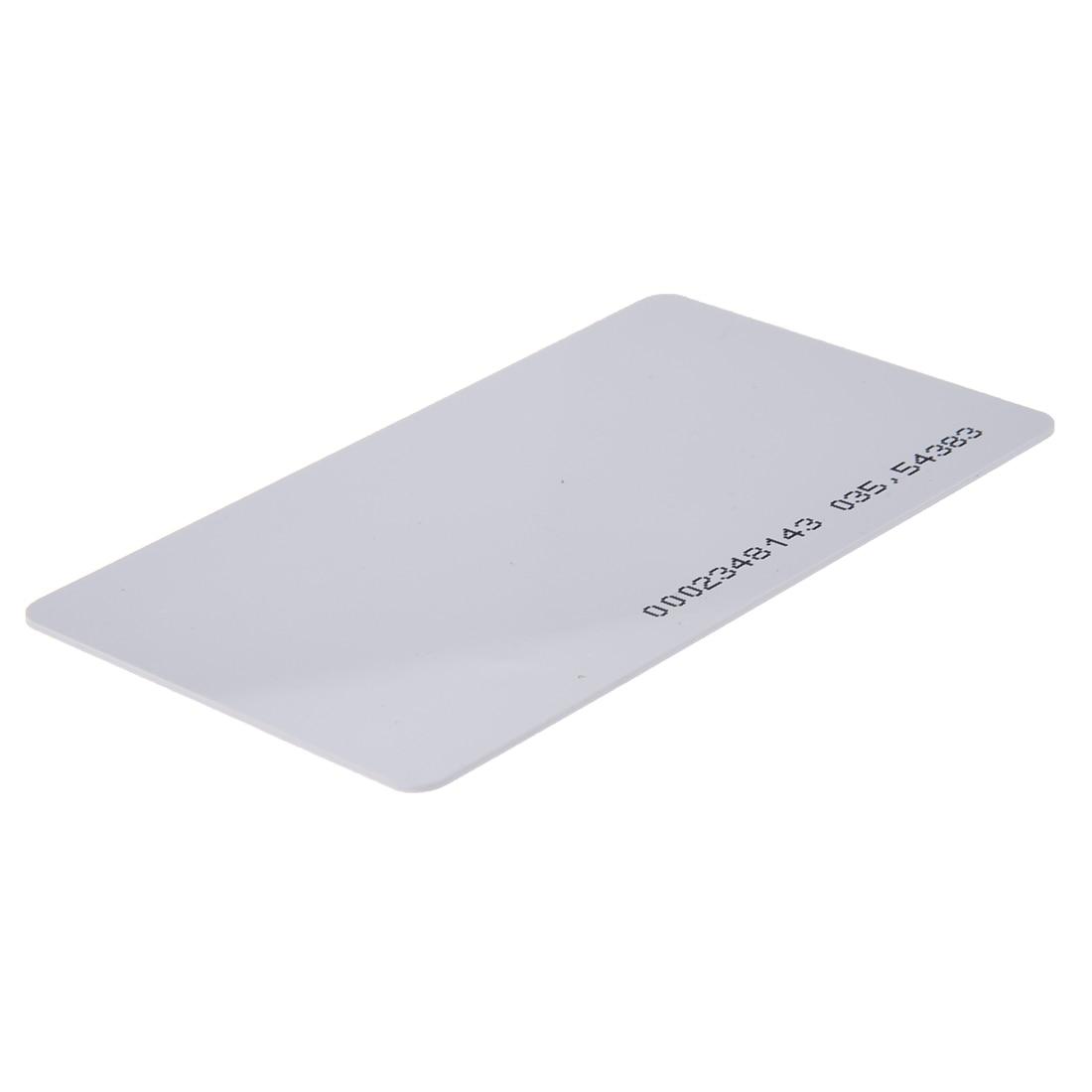 2 Packs 125Khz Door Entry Access Proximity RFID Card Wht 10 Pcs