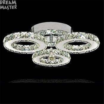 Lustro moderno Led Lampadario di Cristallo di Illuminazione Lampadari A Soffitto Lamparas De Techo Hanglamp Sospensione Apparecchio Lampadina