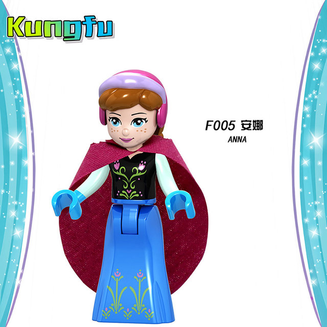 Playmobil Disneyes series Fairy Godmother Maleficen Compatible Legoings princess Building Blocks Figures Toys  Gift Compatible  3