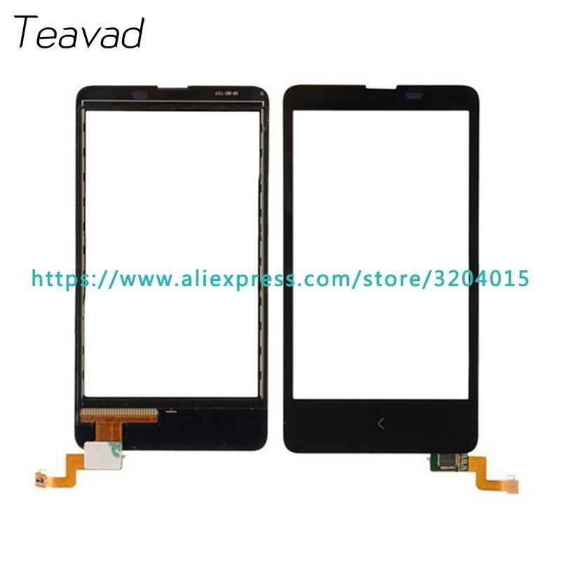 Haute Qualité 4.0 Pour Nokia X Dual SIM RM-980 Écran Tactile Digitizer Capteur Verre Externe Panneau Objectif livraison gratuite