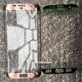 Первоначально Новая Для Samsung Galaxy S7 Edge G935 G935F Внешний Фронт Экрана Стекло Объектива + Клей Черный/Синий/Белый/Серебро/Розовый/золото
