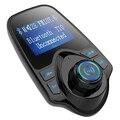 Kit de coche Manos Libres Bluetooth MP3 Transmisor FM Inalámbrico USB SD Pantalla LCD Modulador T10