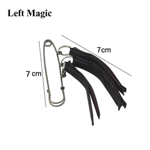 Image 4 - Multi Lit Match Fire Magic Tricks Three Clip Matches Pull Burning Stage Magic Props Accessories Gimmick