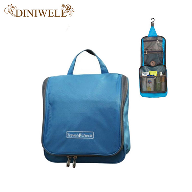DINIWELL Home Travel Camping Hanging Storage Bag for cosmetics Toiletry  Wash Bag Makeup Grooming Make Up Organizer 7e4a99fa0e