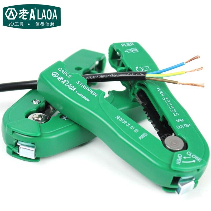 LAOA Multi-fonctionnelle Fil Décapant Portable De Poche pince À Dénuder Marque Mini Dénuder
