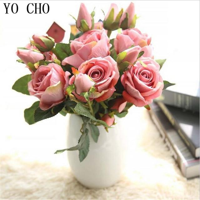 Yo Cho Sutra Fak Tanaman untuk Pesta Natal Natal Anggrek Simulasi Mawar  Buatan Bunga Mawar Pernikahan 2f758d774e