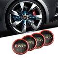 New Um Conjunto De 4 pcs 65mm TRD CAR Pneu Da Roda Centro Cap Hub Etiqueta Do Emblema Do Emblema Do Decalque Fit para a Toyota