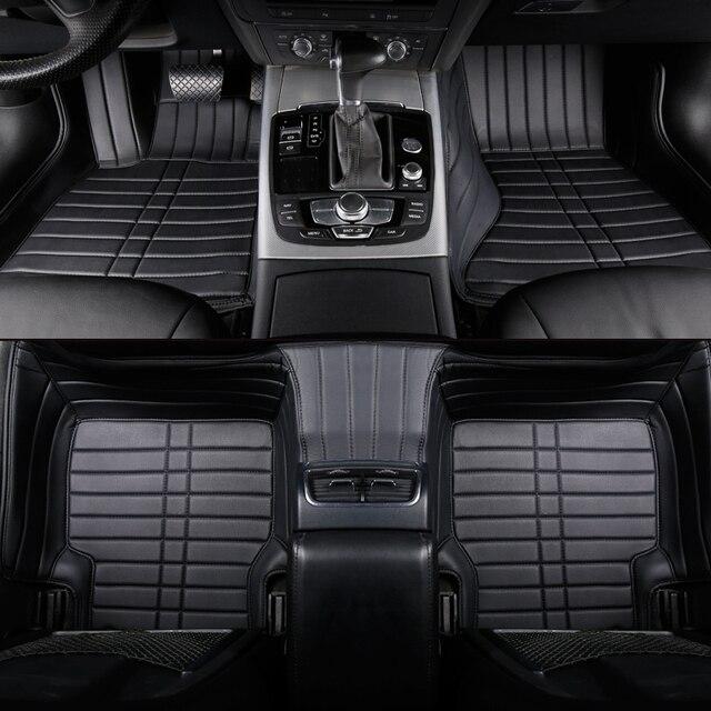 Custom Car Floor Mats For Honda Accord Civic CRV City HRV CR Z Vezel  Crosstour