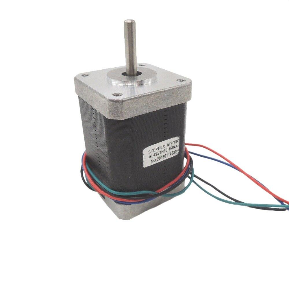 Free shipping 1pc 4-lead 17HS4218 Nema17 Stepper Motor 42 motor Nema 17 motor 42BYGH 1.8A (17HS4218) 3D printer motor and CNCFree shipping 1pc 4-lead 17HS4218 Nema17 Stepper Motor 42 motor Nema 17 motor 42BYGH 1.8A (17HS4218) 3D printer motor and CNC