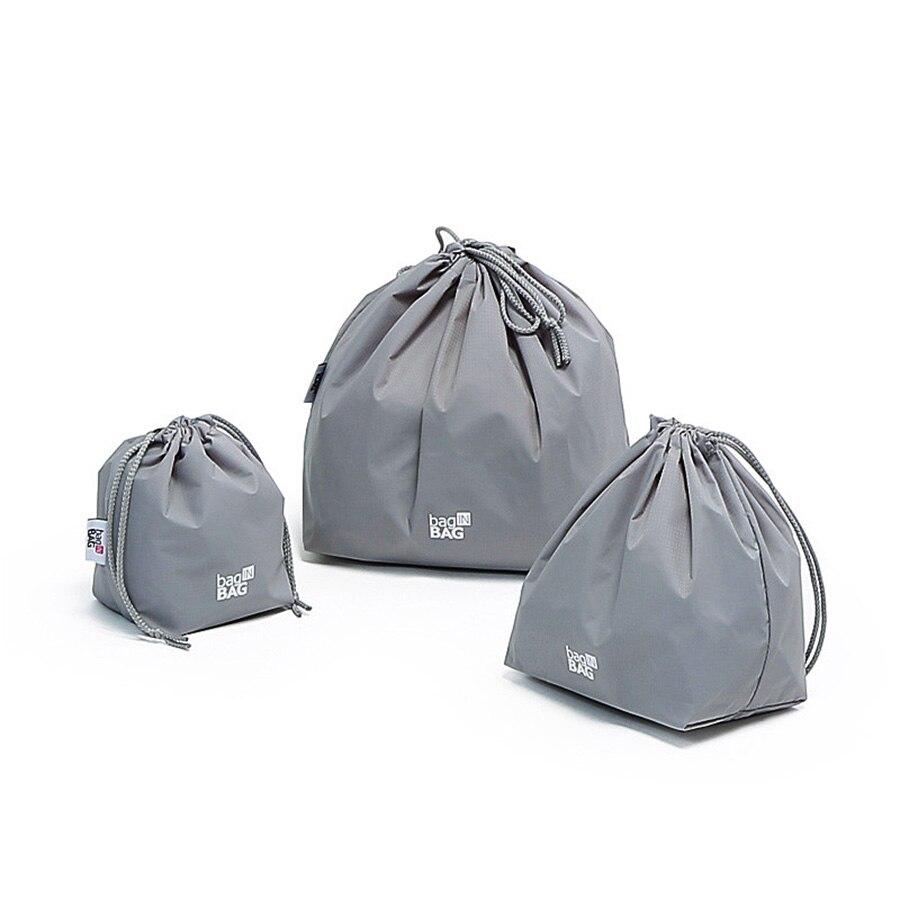 Nylon étanche cordon sac de rangement rouleau organisateur Set voyage maquillage sac cordon Ofertas Calientes Con Envio Gratis 60A22