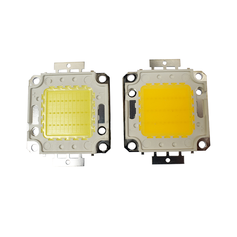 High Power 10W 20W 30W 50W 100W COB Integrated LED lamp Chips Bulb Diode Spotlight For Outdoor DIY Floodlight Spot light Lawn htton uv purple led integrated chips 365nm 375nm 385nm 395nm 405nm high power cob ultraviolet lights 3 5 10 20 30 50 100 watt