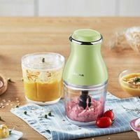 Bear Mini Meat Grinder 2pcs Glass Cups 200W Mixers Baby Feeding Food Maker Food Chopper Vitek Brand Mi