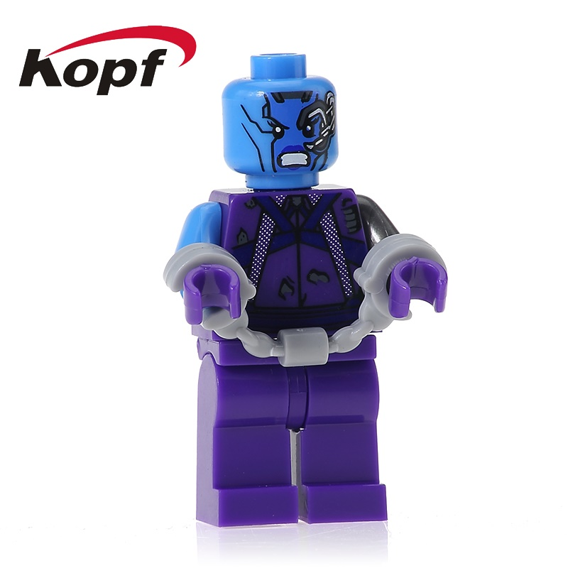 20cs XH 608 Super Heroes Building Blocks Guardians of the Galaxy Nebula Gamora Supervillain Kismet Bricks For Children Gift Toys