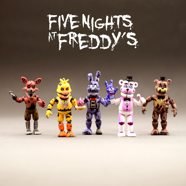 Hot Toys Anime Figure Five Night At Freddy Action Figure Fnaf Bear Pvc Model Freddy Toys For Children Birthday Gifts