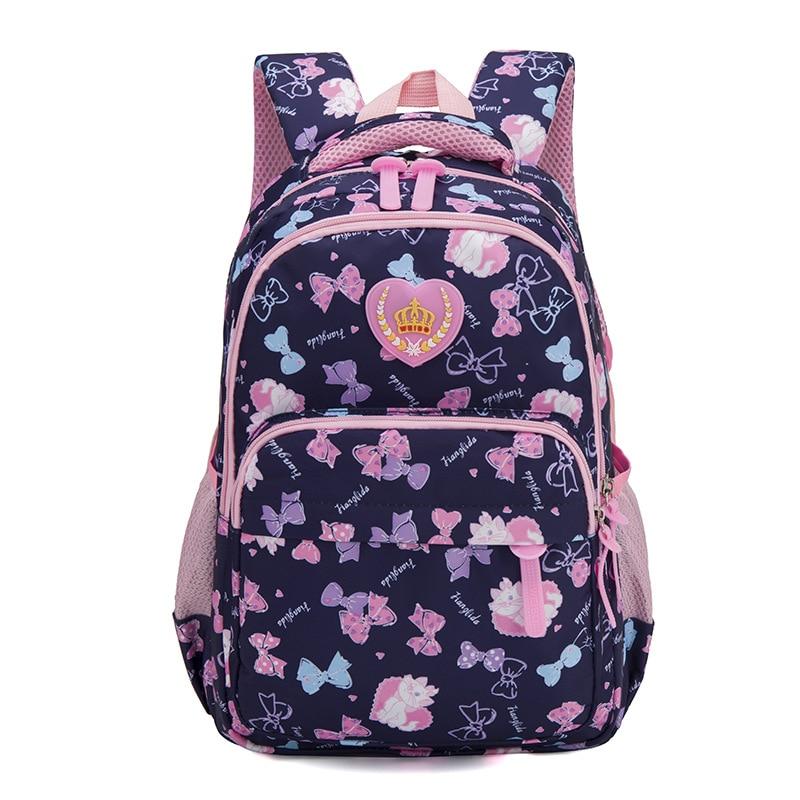2019 waterproof School Backpacks Girls Children printing Backpack School Bags Mochila Escolar Kids Backpacks schoolbags Book Bag