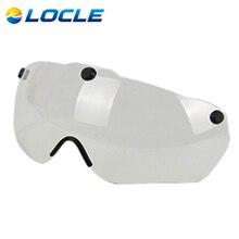 LOCLE Magnética Gafas de Bicicletas Ciclismo Gafas Casco Casco Ciclismo Gafas 3 Colores