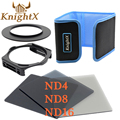 KnightX Square Filter Graduated for Cokin P Series For nikon canon 650d 70d d7200 lenses 6D camera 400D 49 52 55 58 67 72 77 MM