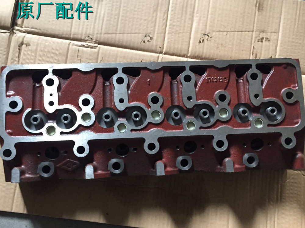 weifang R4105 Cylinder head for R4105D/ZD/P/ZP/AZLD diesel engine/diesel generator parts from original manufacturer fast shipping 6 5kw 220v 50hz single phase rotor stator gasoline generator diesel generator suit for any chinese brand
