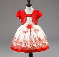 Summer Infant Baby Girl Vestidos de Fiesta de Cumpleaños Vestido de pascua Del Niño de La Princesa puffy vestidos para las niñas