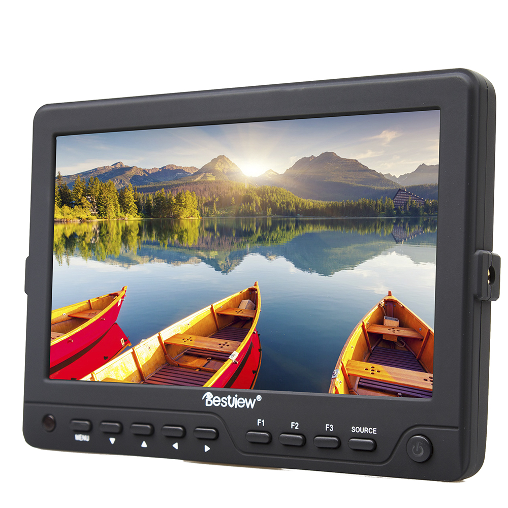 BESTVIEW BSY703-HDprofessional camera HDMI/3G Input HD monitor HDMI 3G output video TFT field 7 inch DSLR lcd 1280*880 5d 6d 7d