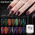 FOCALLURE Soak off Gel Nail LED LED Shining Cat Eye Colorful UV Nail Gel Colors Coat UV Base Coat Magent Magnetic Gel Lacquer