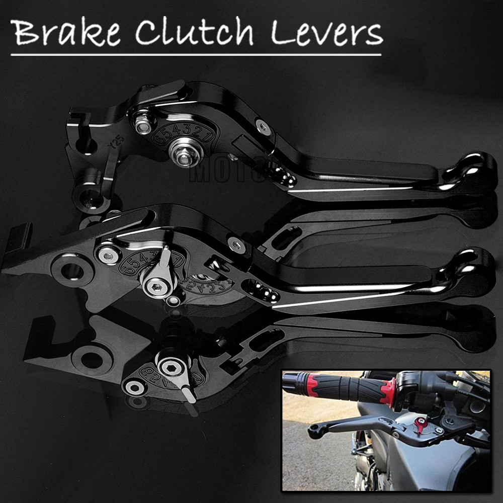 Brake Clutch Pivot Levers For BMW C600 Sport C650 Sport C650GT Motorcycle Extendable Adjustable Folding Lever