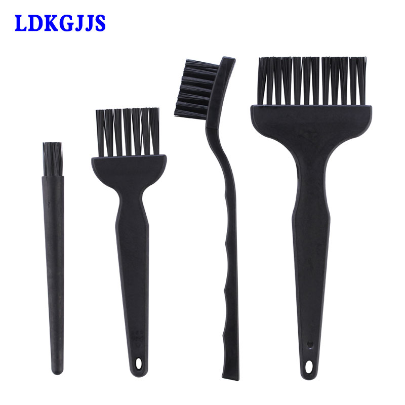 4pcs/lot Anti Static Brush Set Clean Tools For Cell Phone Tablet PCB BGA Repair Tool Ferramentas