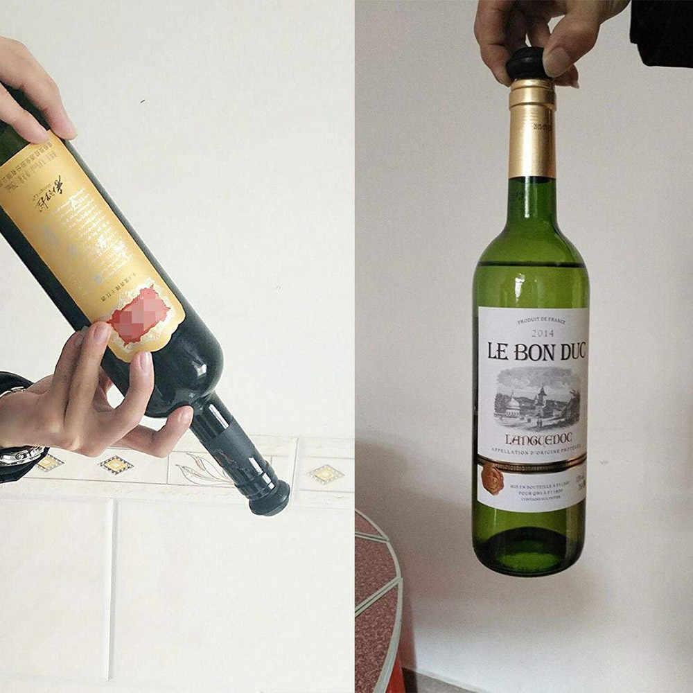Rượu vang Chai Niêm Phong Chân Không Rượu Vang Bơm Với 4 Nút Chai Niêm Phong Bảo Quản Đồ Uống Chai Hat Mũ Silicone Nút Chai Rượu Vang