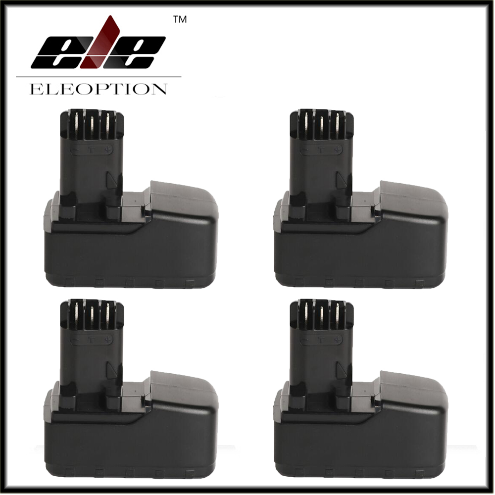 Eleoption 4x 15.6V 3300mAh Ni-MH Replacement Power Tool
