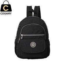 Femmes sac à dos pour adolescent filles de sac à dos en nylon femelle cartable dames sac d'école sac à dos petit sac à dos sac à bandoulière