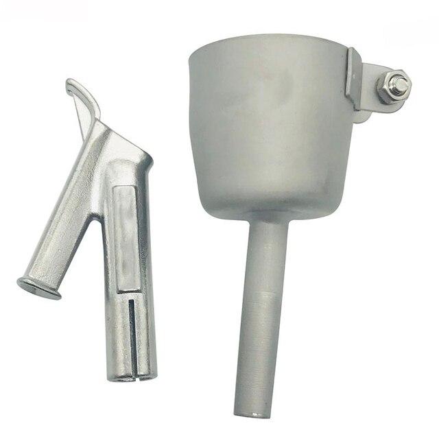 2pc/set Speed Welding Nozzles 5mm Standard Nozzle And 8mm Speed Welding Nozzle Triangular For Vinyl PVC Plastic Hot Heat Air Gun