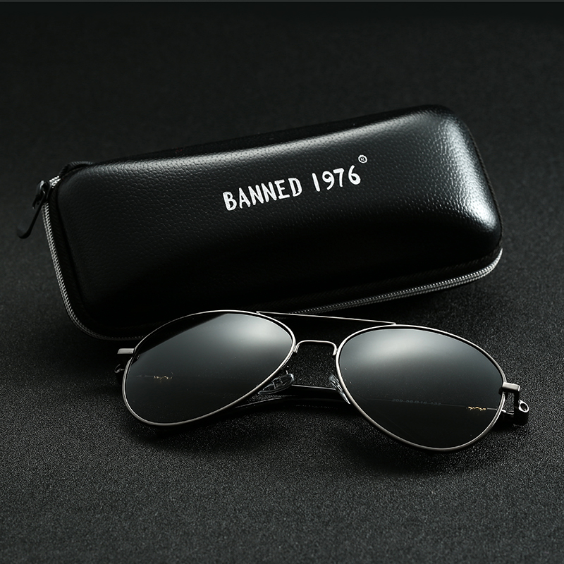 3cb4facc65807 Brand HD Polarized Sunglasses UV400 Men Women cool Fashion Eyes hot Sun  Glasses With Accessories driving aviation oculos de sol-in Sunglasses from  Apparel ...