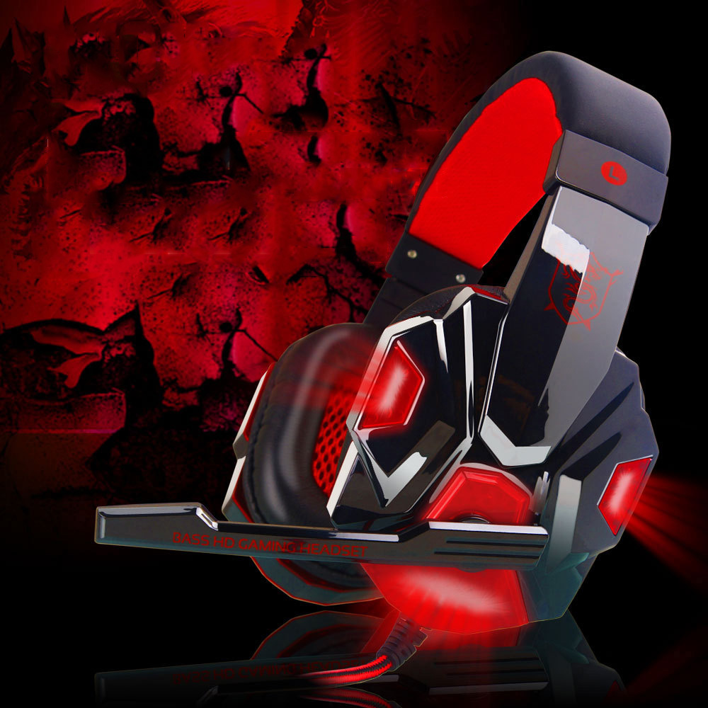 bilder für PLEXTONE PC780 PC Gaming Headset Groß Glowing Kopfhörer mit Mikrofon für Computer Subwoofer Stereo Universelle Kabelgebundenen Kopfhörer