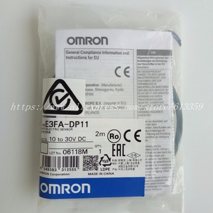 Image 1 - E3FA DN11/dn12/dn13/dp12/dp13/E3FA RN11/tn11/tp11 omron 광전 센서 100% 신규 오리지널