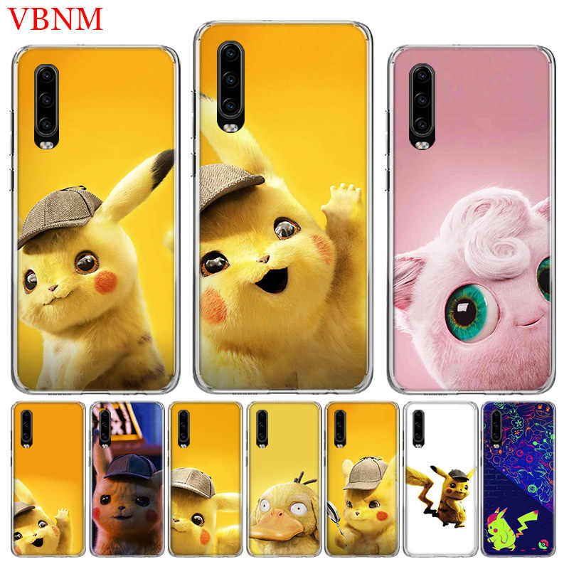 Pikachue Movie Special Soft Phone Case For Huawei P30 P20 Mate 20 10 Pro P10 lite P Smart + Plus Z 2019 Customized Cover Cases