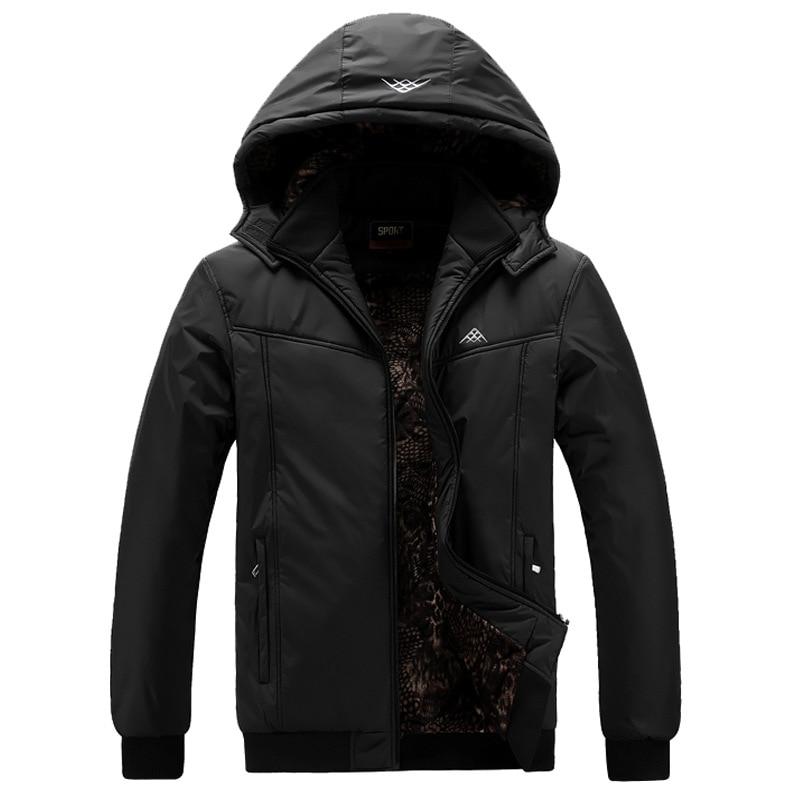 WINTER JACKET men   Parka   Warm Plus Size 5XL 6XL 7XL 8XL 9XL Man Fashion Men Hooded Collar Winter   Parka   Thick Casual Coats Male