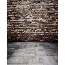 Pano de impressão de vinil parede de tijolos estúdio foto fundos para crianças recém-nascidas fotografia cenários fotográficos