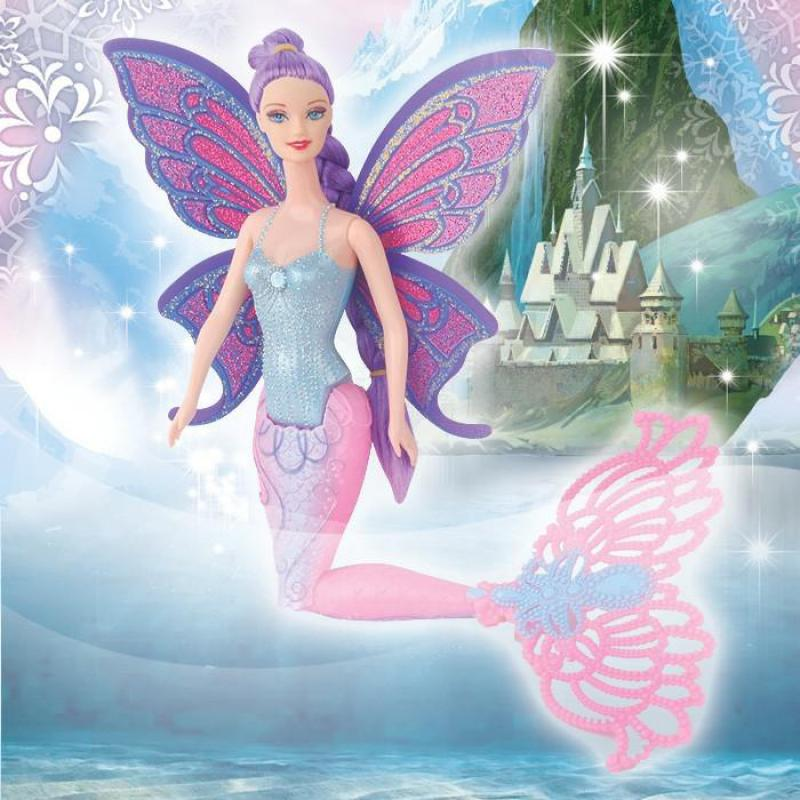 Original Swimming Mermaid Dolls Fashion Ariel Mermaid Doll With Wings Toys Ariel Princess Jointed Mermaid Bonecas For Girls Gift
