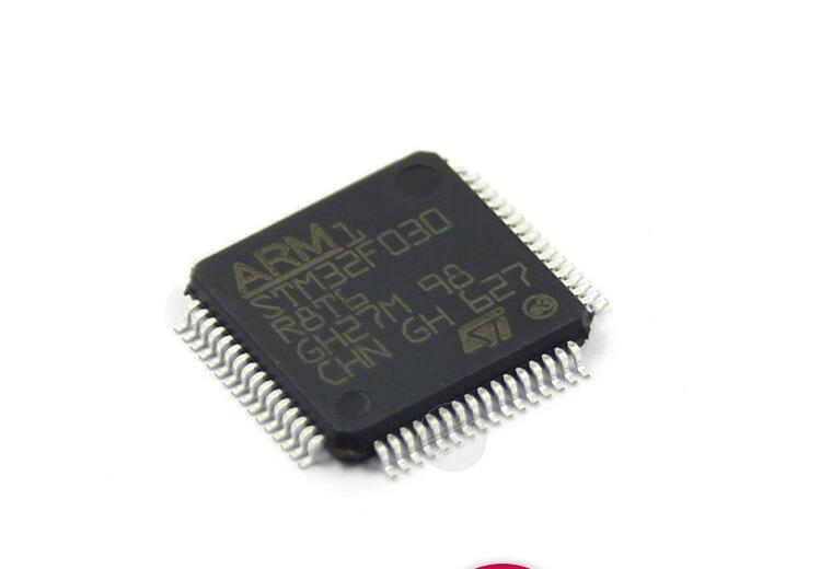 50 pcs/lot STM32F030 STM32F030R8T6 LQFP6450 pcs/lot STM32F030 STM32F030R8T6 LQFP64