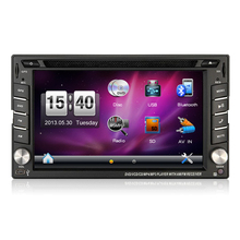 Hot Selling Wince 6.0 Capacitive Touch 6.2 Inch 2Din Car DVD Player GPS For Universal GPS Radio Bluetooth RDS Free Map