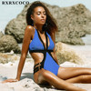 MOOSKINI One Piece Swimsuit Women Swimwear 2017 Sexy Bathing Suit Swim Vintage Summer Beach Wear Set