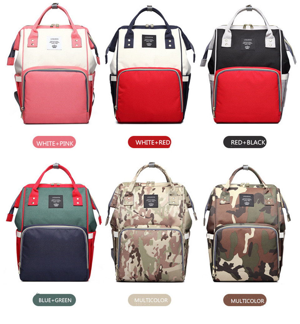 HTB1eXfew7yWBuNjy0Fpq6yssXXa5 Nappy Backpack Bag Mummy Large Capacity Bag Mom Baby Multi-function Waterproof Outdoor Travel Diaper Bags For Baby Care