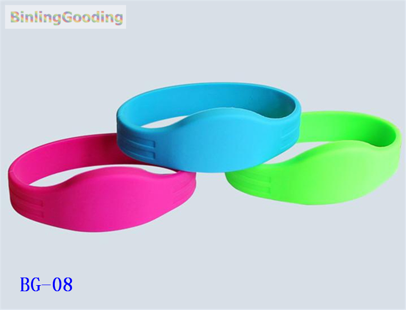 Bg-08 100pcs/lot 125khz Em4305 Rfid Wristband Bracelet Rewritable Id Card For Swimming Pool Sauna Room Gym To Be Distributed All Over The World Security & Protection Access Control