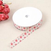 N Ribbon 1.5cm*20 yards Star Ultrasonic Household Textile Embossed Grosgrain Webbing DIY Garment Accessories Material