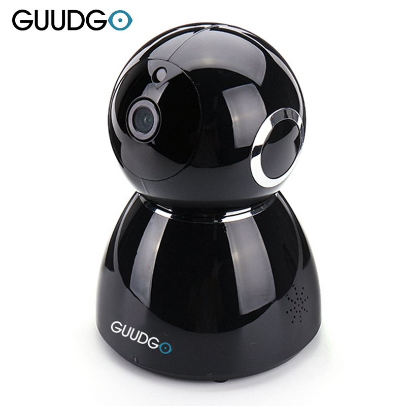 GUUDGO GD-SC03 Snowman 1080P Cloud WIFI Camcorder Camera Zwart Pan & - Camera en foto