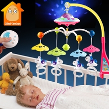 Baby Toys 0-12 Months Cribs Mobile Musical Box for Children